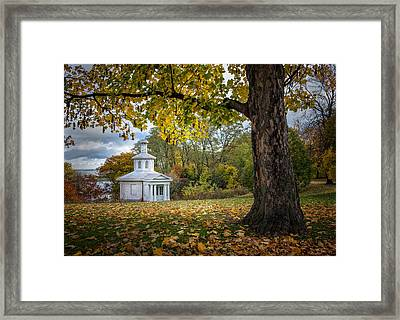 The Cockpit Theatre Framed Print by Rick McKenzie