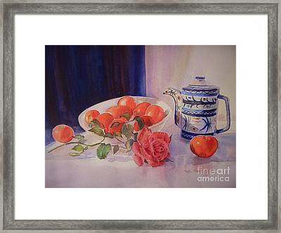The Coffee Pot Framed Print by Beatrice Cloake