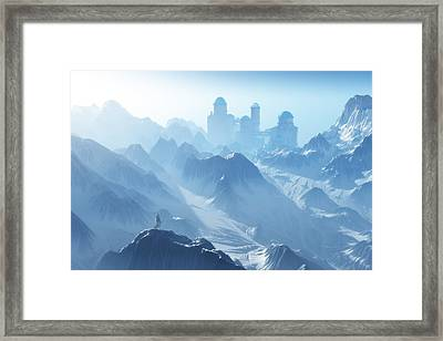 The Cold Light Of Day Framed Print by Melissa Krauss