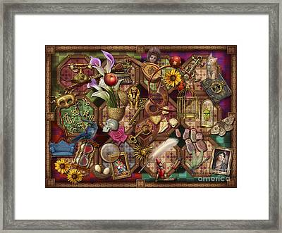 The Collection Framed Print by Ciro Marchetti