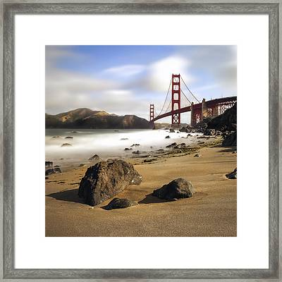 The Collection Of Liquid Framed Print by Sean Foster
