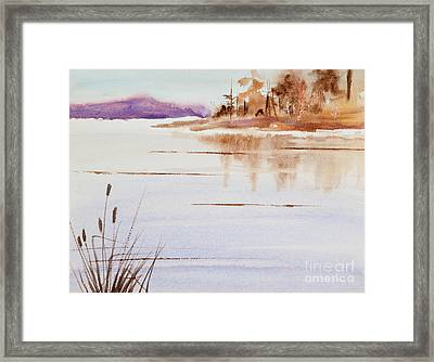 The Color Of Autumn Framed Print by Michelle Wiarda