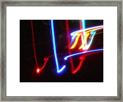 The Color Of Dance Framed Print by James Welch