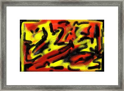 The Colors Of Africa Framed Print by Jera Sky