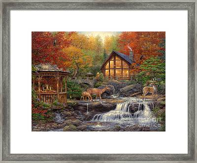 The Colors Of Life Framed Print by Chuck Pinson