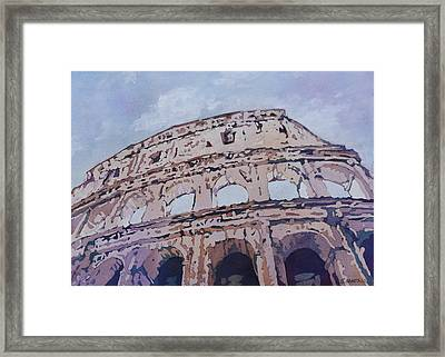 The Colossus  Framed Print by Jenny Armitage