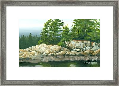 The Coming Storm Framed Print by Michael Swanson