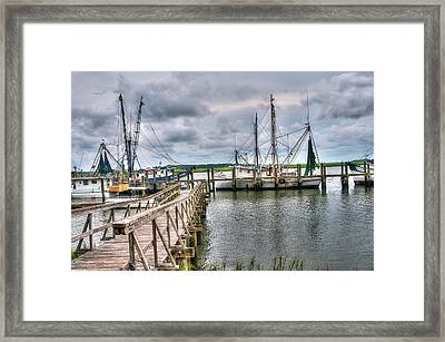 The Coming Storm Framed Print by Scott Hansen