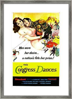 The Congress Dances, Aka Congress Framed Print by Everett