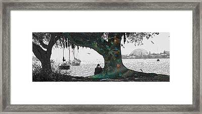 The Conscious Tree Framed Print by Betsy C Knapp