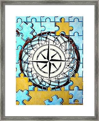 The Constant Search For Significance Framed Print by Paulo Zerbato