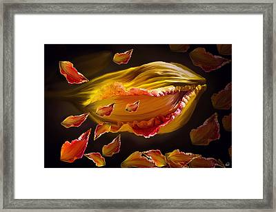 The Contagion Of Laughter Framed Print by Angela A Stanton