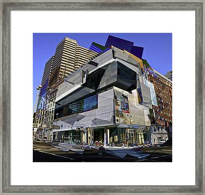 The Contemporary Arts Center Framed Print by Scott Meyer