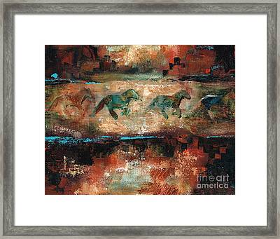 The Cookie Jar Framed Print by Frances Marino
