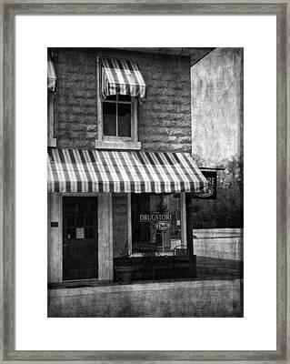 The Corner Deli Framed Print by Kim Hojnacki