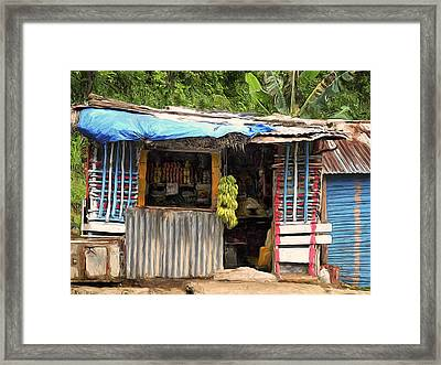 The Corner Market Framed Print by Dominic Piperata