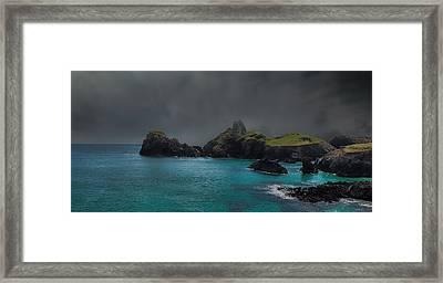 The Cornish Coast Framed Print by Martin Newman