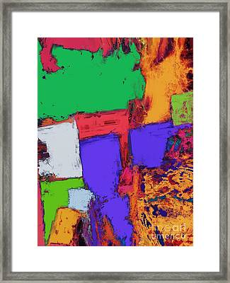 The Correct Place Framed Print by Keith Mills