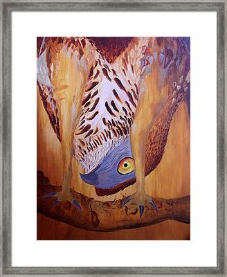 The Corrupted Predator  Framed Print by Amit Thakurta