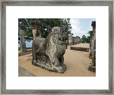 The Council Chamber Of King Nissanka Framed Print by Panoramic Images
