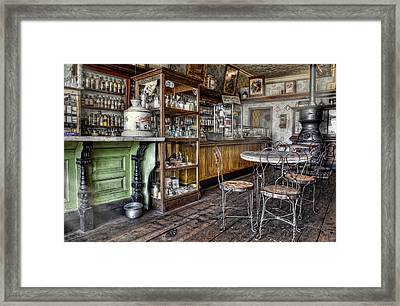 The Counter Framed Print by Ken Smith