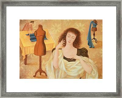 The Couturiers, 1996 Framed Print by Patricia O'Brien