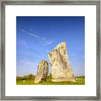 The Cove Avebury Wiltshire Framed Print by Colin and Linda McKie