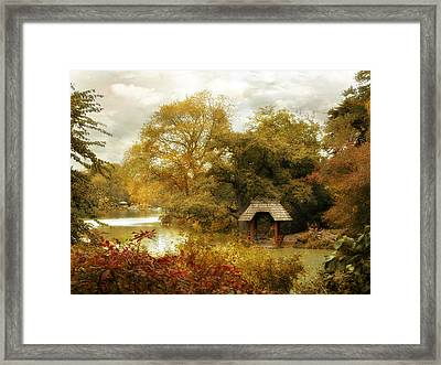 The Cove Framed Print by Jessica Jenney