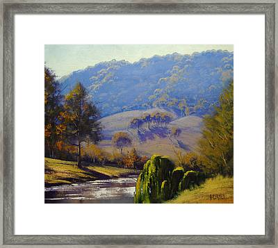 The Coxs River Framed Print by Graham Gercken