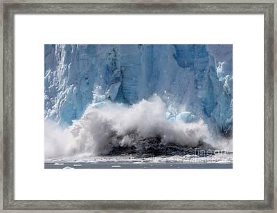 The Crash Framed Print by Sophie Vigneault