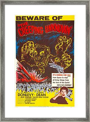 The Creeping Unknown, Aka Quatermass Framed Print by Everett