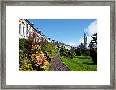 The Crescent Built Around 1850,with St Framed Print by Panoramic Images
