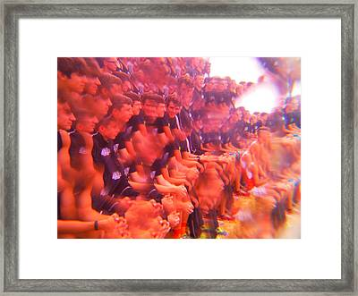 The Cross Country Runners Series 3 Framed Print by Paddy Shaffer