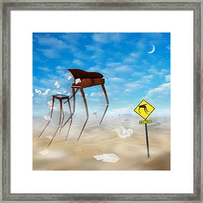 The Crossing 2 Framed Print by Mike McGlothlen