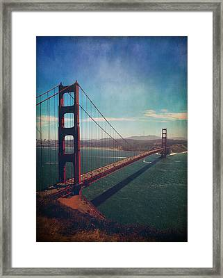 The Crossing Framed Print by Laurie Search