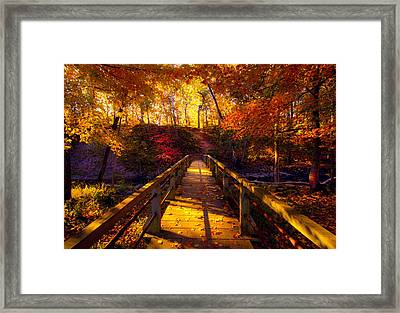 The Crossing Framed Print by Phil Koch