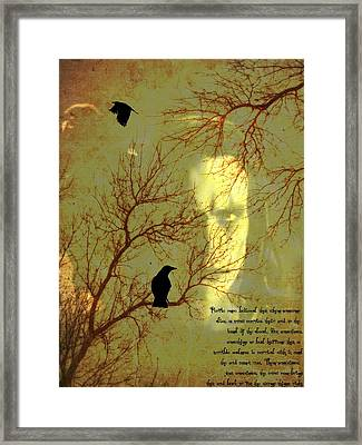 The Crow Framed Print by Dan Sproul