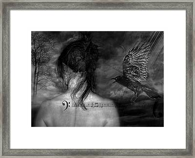 The Crow Framed Print by Joachim G Pinkawa
