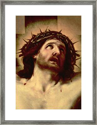 The Crown Of Thorns Framed Print by Guido Reni