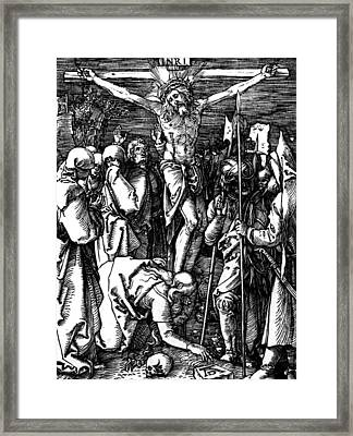 The Crucifixion Framed Print by Albrecht Durer