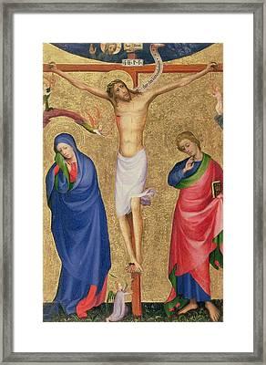 The Crucifixion Framed Print by Dutch School