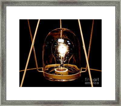 The Crystal Ball  Framed Print by Steven  Digman