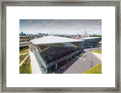 The Crystal Building Framed Print by Ashley Cooper