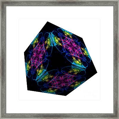 The Cube 13 Framed Print by Steve Purnell