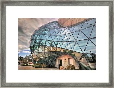 The Dali Museum St Petersburg Framed Print by Mal Bray