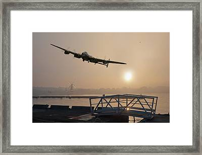The Dambusters - Last One Home Framed Print by Gary Eason