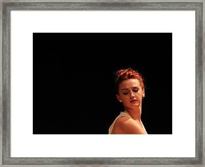 The Dance 2 Framed Print by Carolyn Ricks