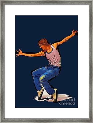 The Dancer 75 Framed Print by College Town