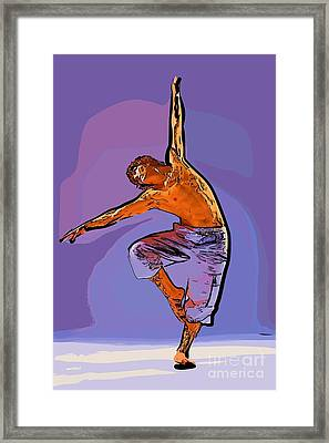 The Dancer 79 Framed Print by College Town