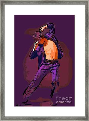 The Dancer 82 Framed Print by College Town